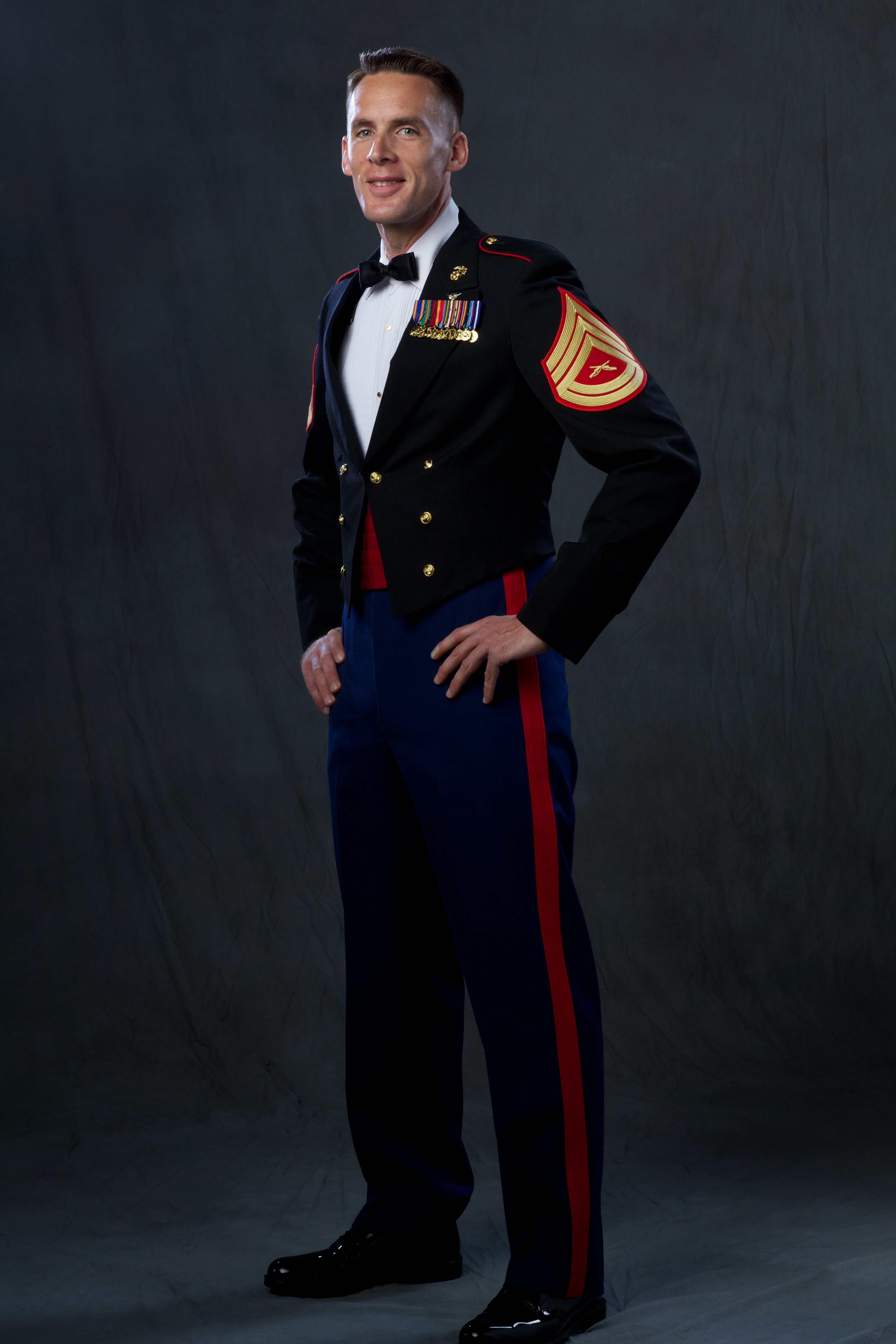 Marine evening dress uniforms
